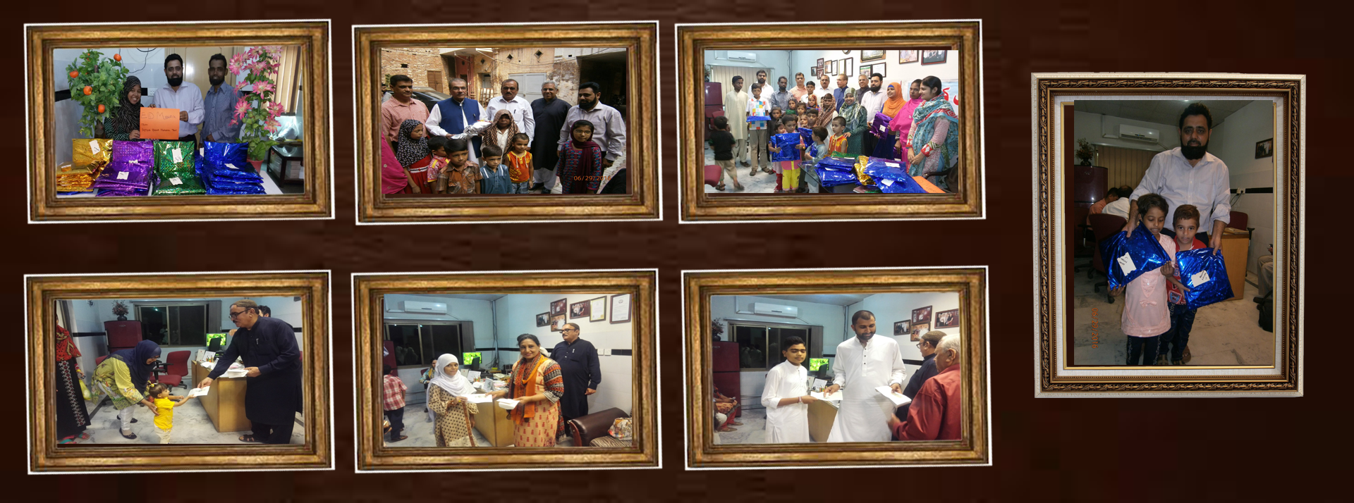 EID GIFTS DISTRIBUTIONS